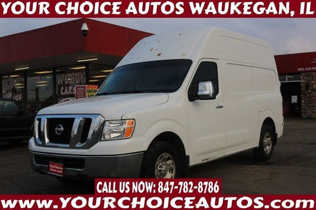 2012 Nissan NV Cargo 2500 HD SV with High Roof V8
