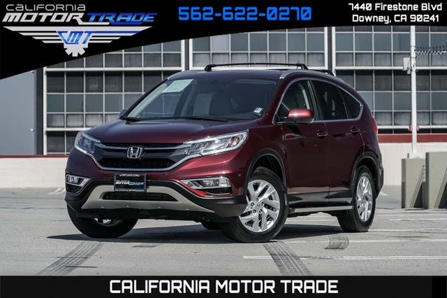 2015 Honda CR-V EX-L AWD with Navigation