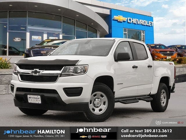 2020 Chevrolet Colorado Work Truck Crew Cab 4WD