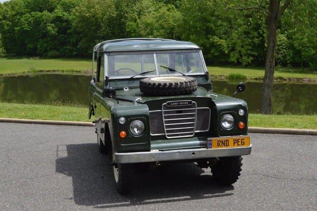 1972 Land Rover Series III