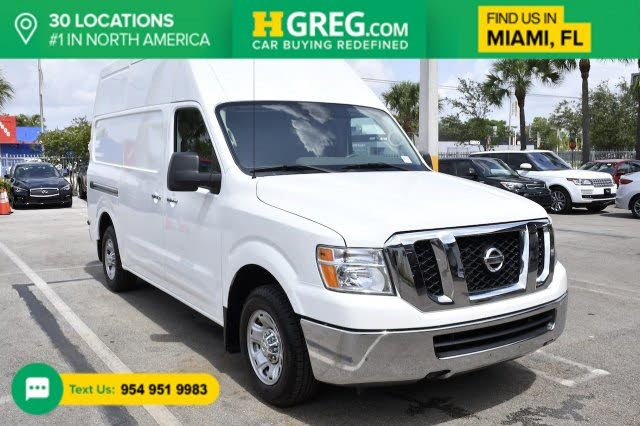 2018 Nissan NV Cargo 2500 HD SL with High Roof