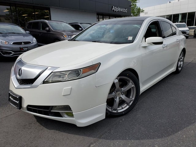 2010 Acura TL SH-AWD with Technology Package and Performance Tires