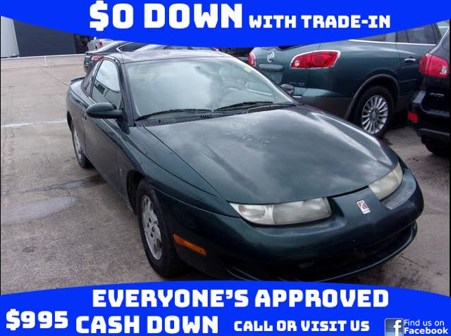 1998 Saturn S-Series 2 Dr SC2 Coupe