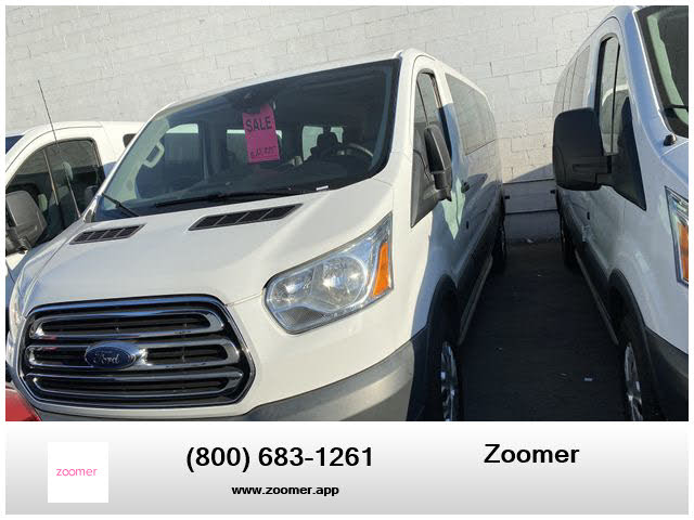 2015 Ford Transit Passenger 350 XLT Low Roof LWB RWD with 60/40 Passenger-Side Doors