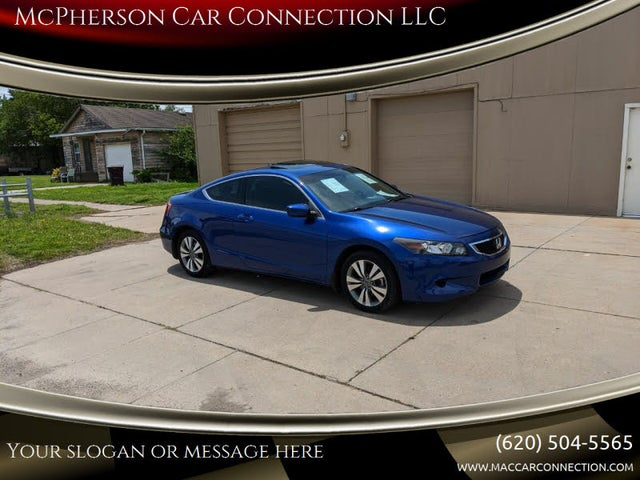 2008 Honda Accord Coupe EX-L with Nav