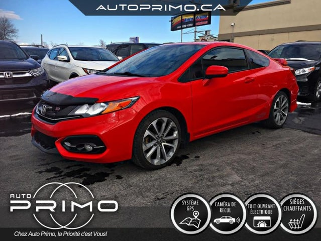 2015 Honda Civic Coupe SI with Navi