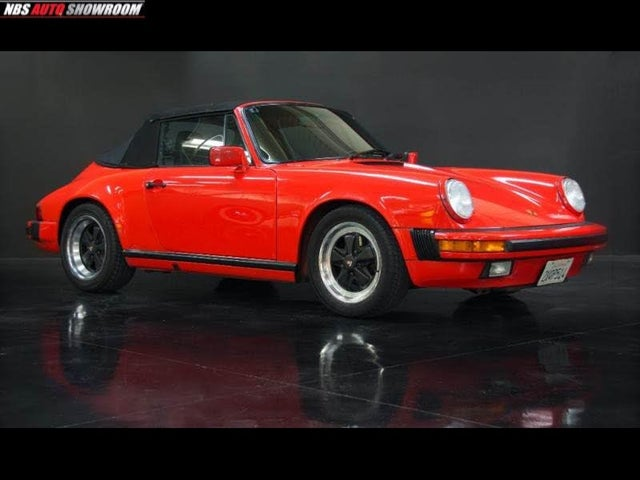 1989 Porsche 911 Carrera Convertible