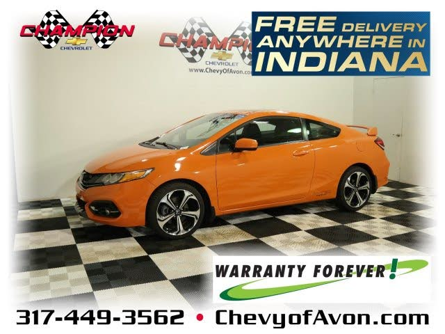 2014 Honda Civic Coupe Si with Summer Tires