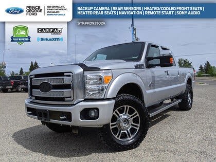 2015 Ford F-350 Super Duty Platinum Crew Cab 4WD
