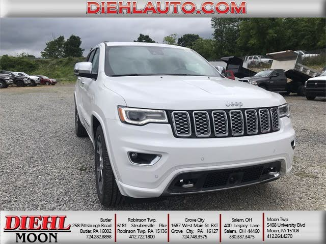 2019 Jeep Grand Cherokee Overland 4WD