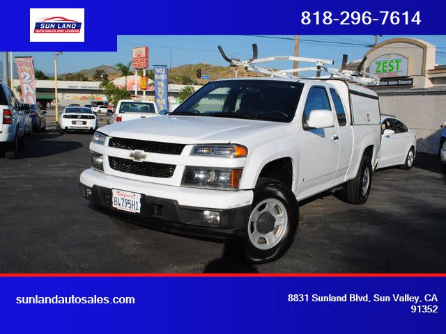 2009 Chevrolet Colorado Work Truck Extended Cab 4WD