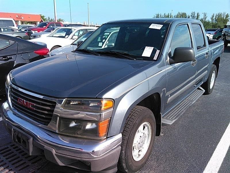 Used 2004 Gmc Canyon Sle Z71 Crew Cab 4wd For Sale  With