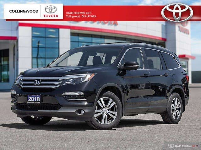 2018 Honda Pilot EX-L AWD with Navigation
