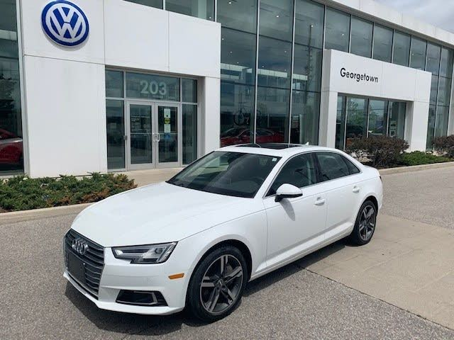 2017 Audi A4 2.0T quattro Technik Sedan AWD
