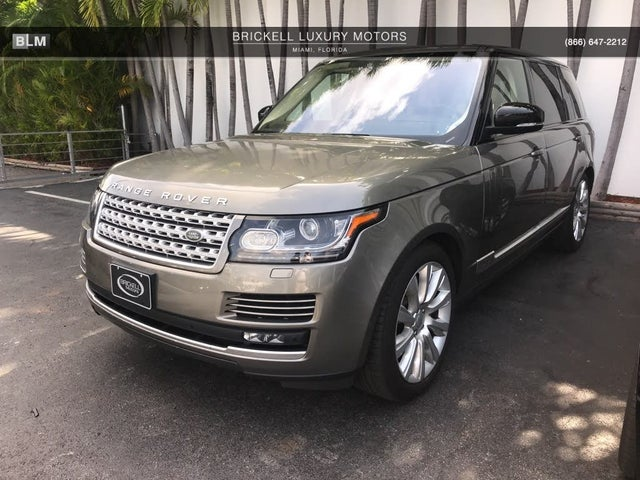 2017 Land Rover Range Rover V8 Supercharged LWB 4WD