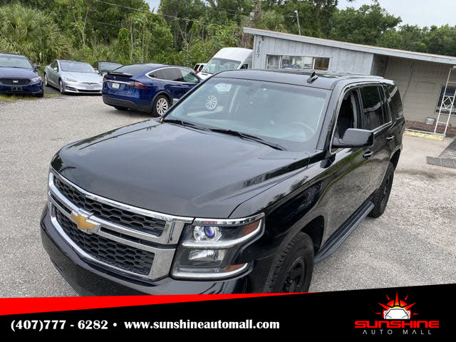 2016 Chevrolet Tahoe Special Service 4WD