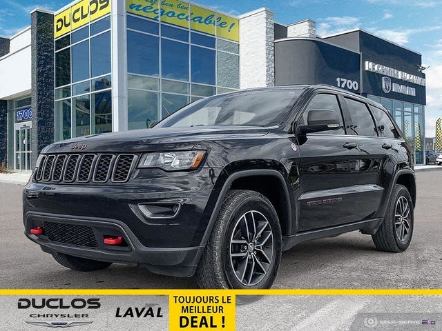 2017 Jeep Grand Cherokee Trailhawk 4WD