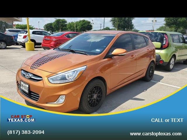 2016 Hyundai Accent Sport 4-Door Hatchback FWD
