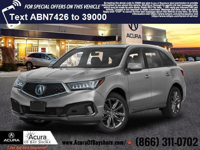2020 acura mdx sh-awd with technology and a-spec package