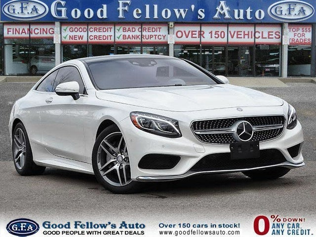 2017 Mercedes-Benz S-Class Coupe S 550 4MATIC