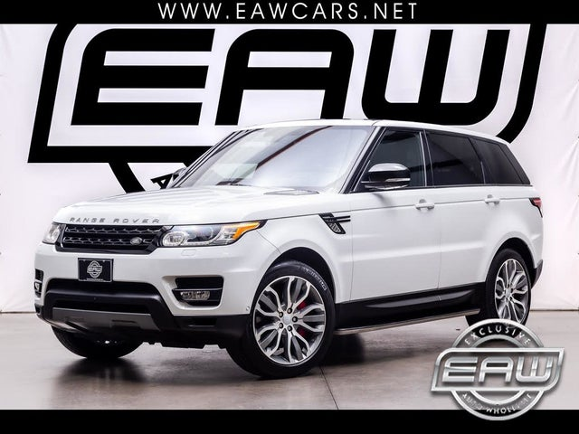 2016 Land Rover Range Rover Sport V8 Supercharged Dynamic 4WD