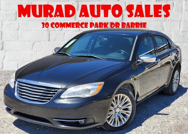 2011 Chrysler 200 Limited Sedan FWD