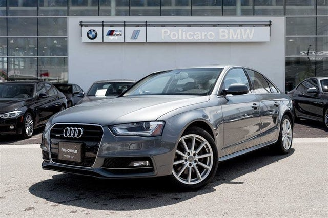 2016 Audi A4 2.0T quattro Progressiv Plus Sedan AWD