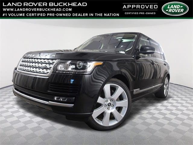 2017 Land Rover Range Rover V8 Supercharged LWB 4WD
