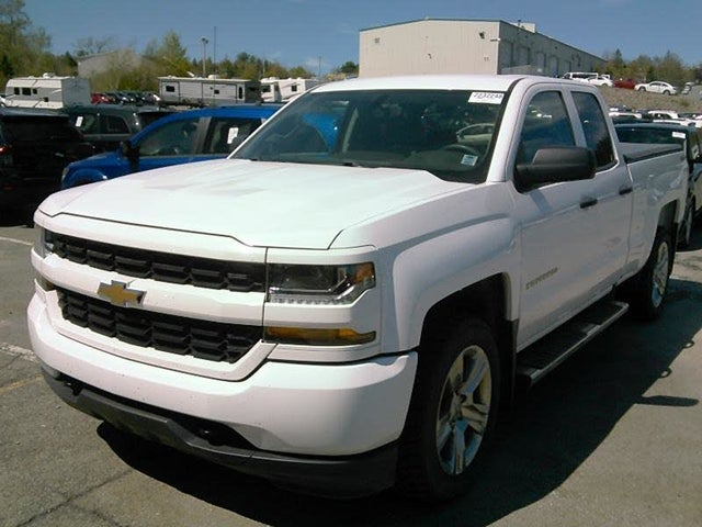 2016 Chevrolet Silverado 1500 Custom Double Cab 4WD