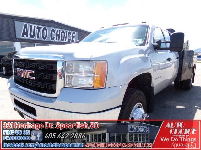 2011 GMC Sierra 3500HD Work Truck Crew Cab 4WD Chassis