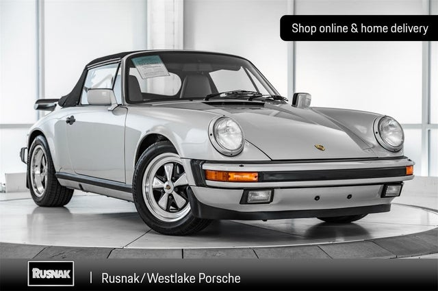 1989 Porsche 911 Carrera Speedster Convertible