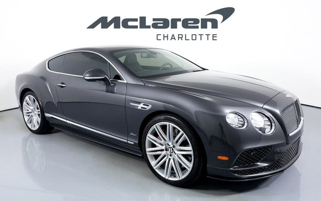 2016 Bentley Continental GT Speed AWD