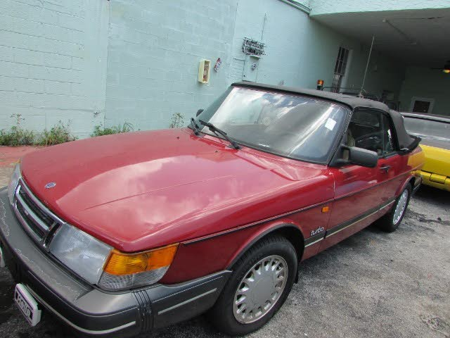 1988 Saab 900 Turbo Convertible