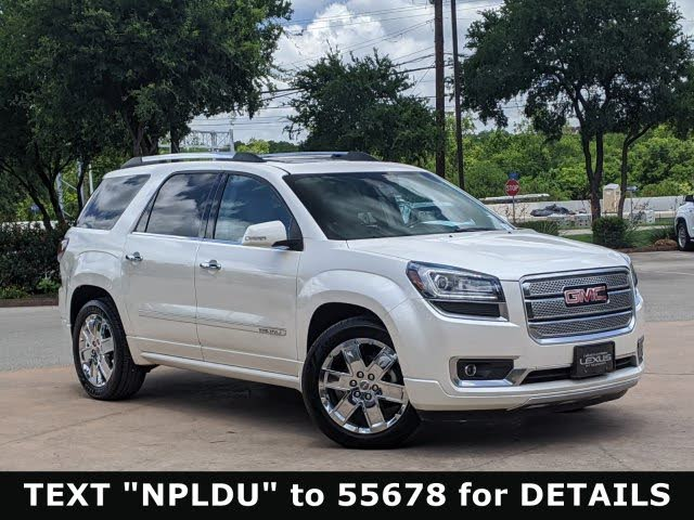 Used 2015 Gmc Acadia Denali Fwd For Sale With Photos Cargurus
