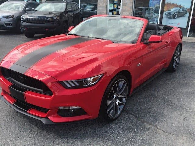 2015 Ford Mustang GT Premium Convertible RWD