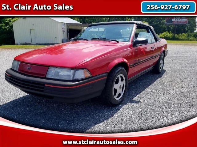 1992 Chevrolet Cavalier RS Convertible FWD