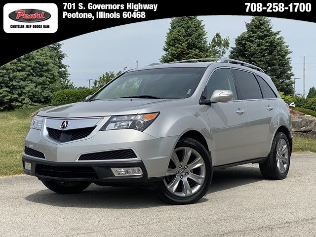 2012 Acura MDX SH-AWD with Advance and Entertainment Package