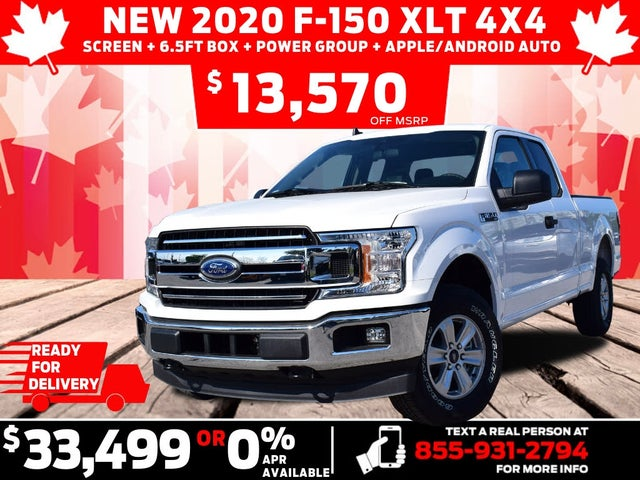 2020 Ford F-150 XLT SuperCab 4WD