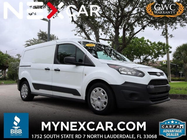 2016 Ford Transit Connect Cargo XL LWB FWD with Rear Cargo Doors
