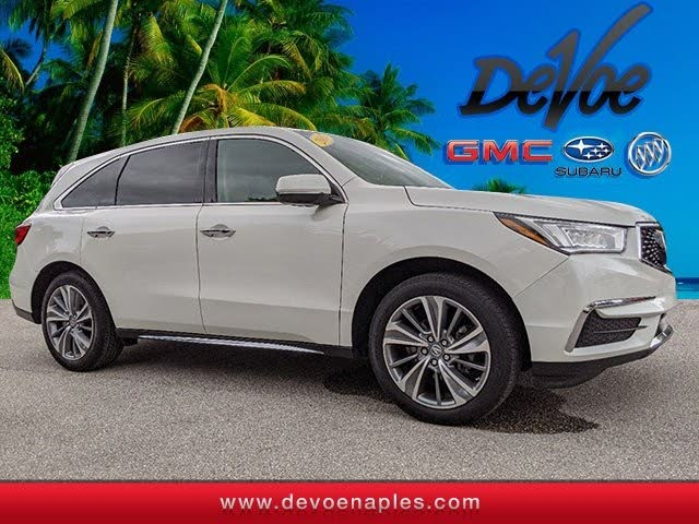 2017 Acura MDX FWD wth Technology Package