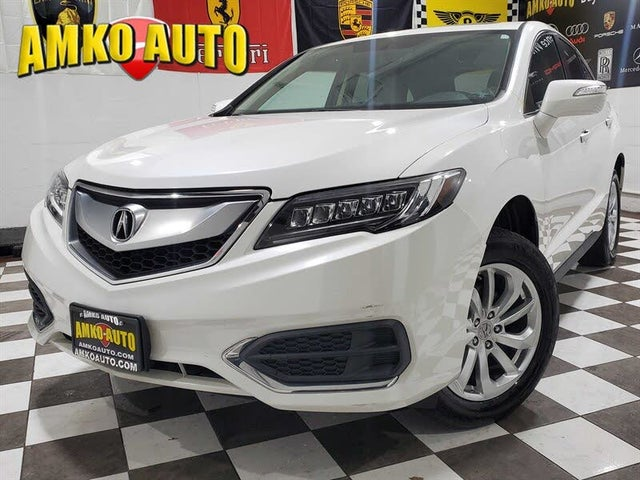 2017 Acura RDX AWD with AcuraWatch Plus Package
