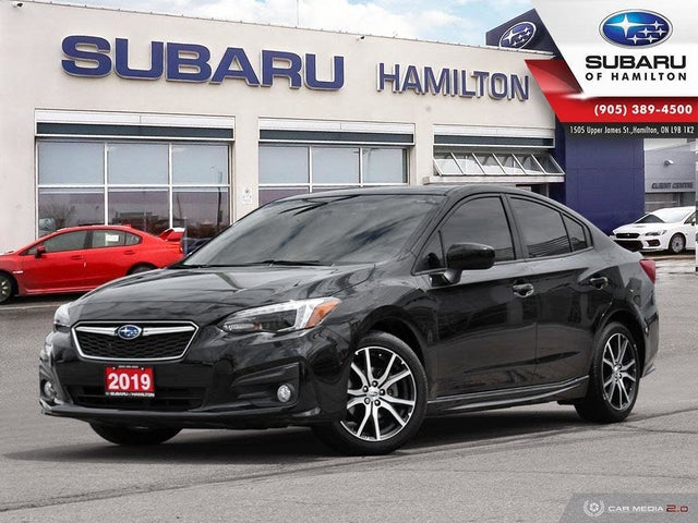 2019 Subaru Impreza 2.0i Sport Sedan AWD with EyeSight Package