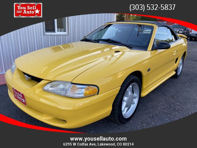 1994 Ford Mustang GT Convertible RWD