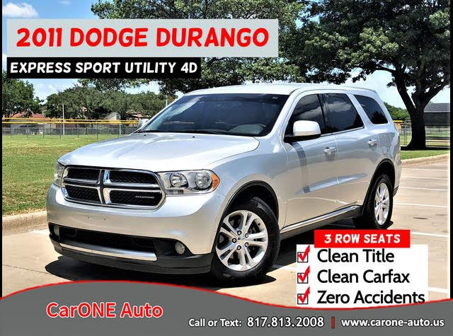 2011 Dodge Durango Express RWD