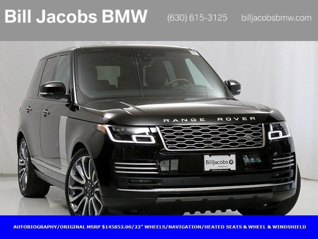 2018 Land Rover Range Rover V8 Autobiography 4WD
