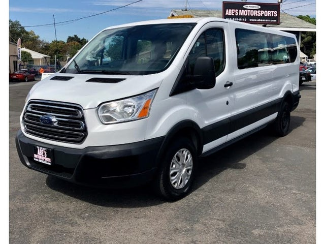 2015 Ford Transit Passenger 350 XL Low Roof LWB RWD with Sliding Passenger-Side Door