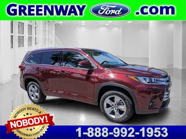 2019 Toyota Highlander Limited FWD