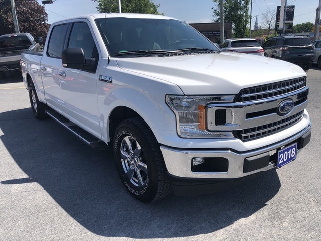 2018 Ford F-150 XLT SuperCrew LB RWD