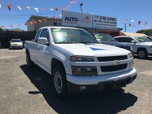 2010 Chevrolet Colorado Work Truck Extended Cab RWD