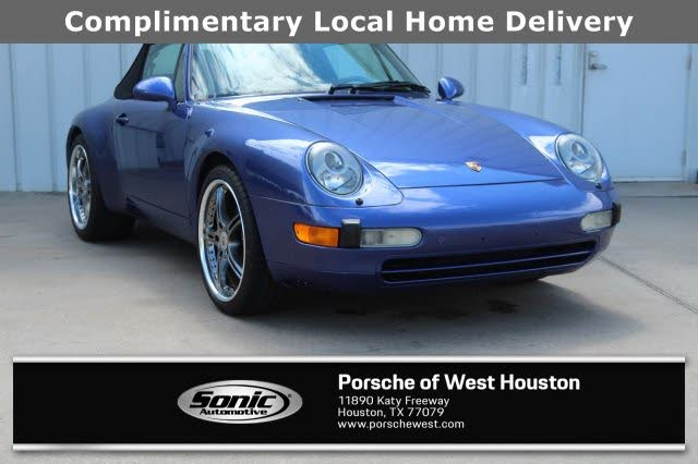 1998 Porsche 911 Carrera 4 AWD Convertible